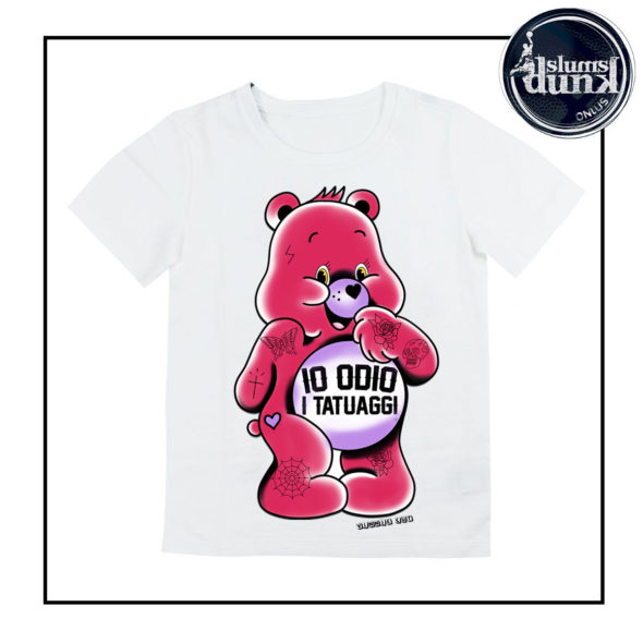 maglia orsetto del cuore rosa